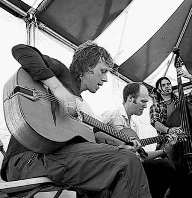 The Trio at the Four Corners Folk Festival, Pagosa Springs, CO August 2003