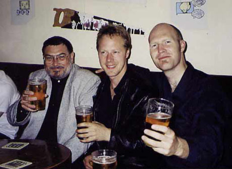 Tours end in Ottawa - Having a beer at the Manx - Summer 2001
